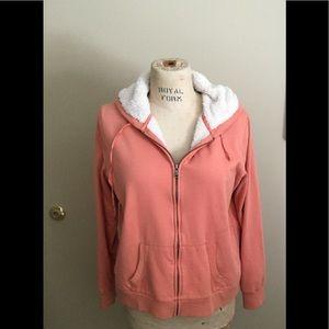 Fleece-lined hoodie